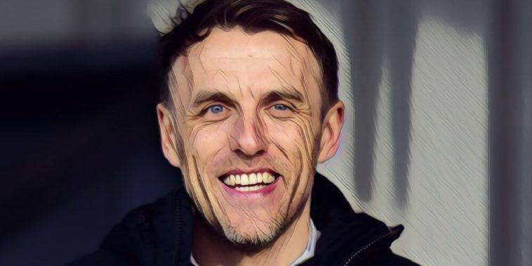 England womens coach Phil Neville