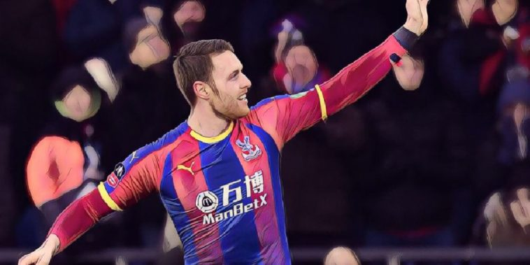 Connor Wickham scores for Crystal Palace