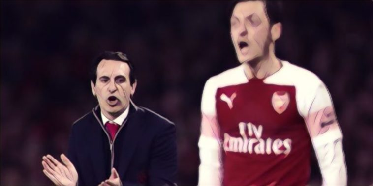 arsenal ozil emery