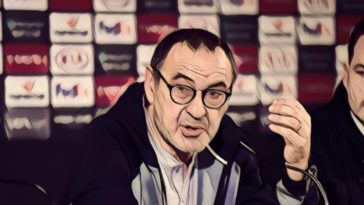 Maurizio Sarri Europa League press conference