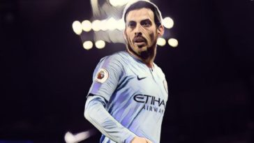 Man City legend David Silva
