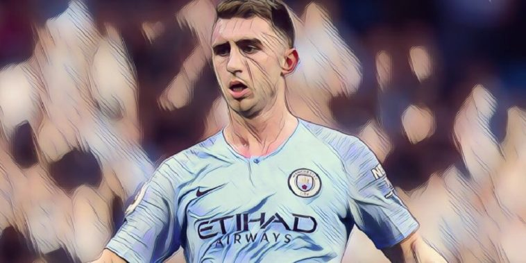 Man City defender Aymeric Laporte