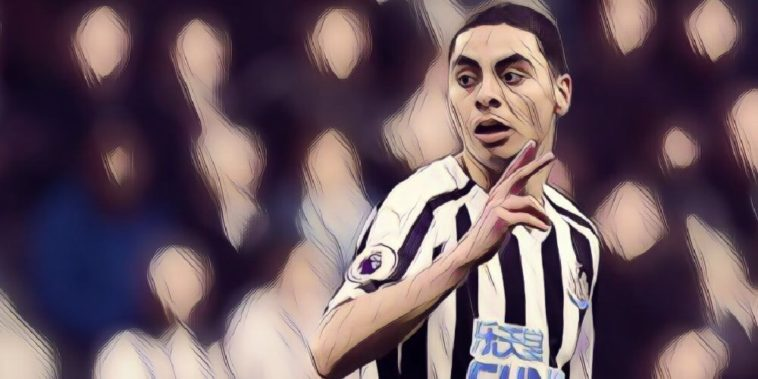 Newcastle United record signing Miguel Almiron makes his debut against Huddersfield