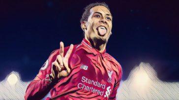 Virgil van Dijk scores a brace for Liverpool against Watford
