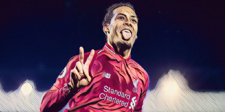 Virgil van Dijk scores a brace for Liverpool against Watford