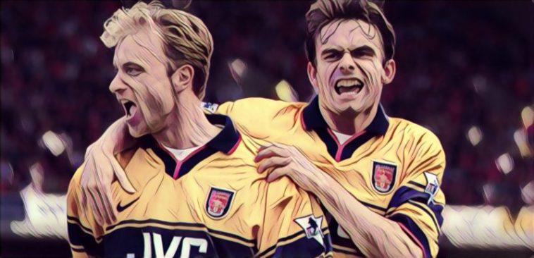 Bergkamp Overmars Arsenal