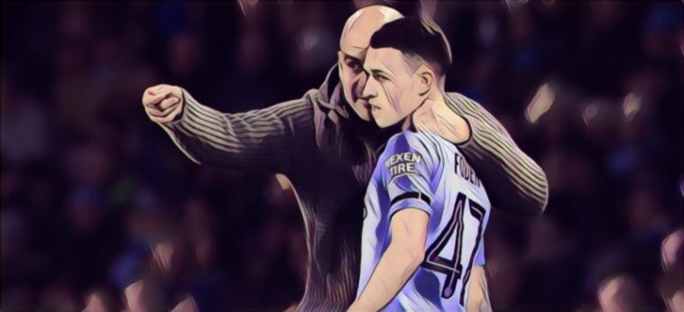Guardiola Foden Man City