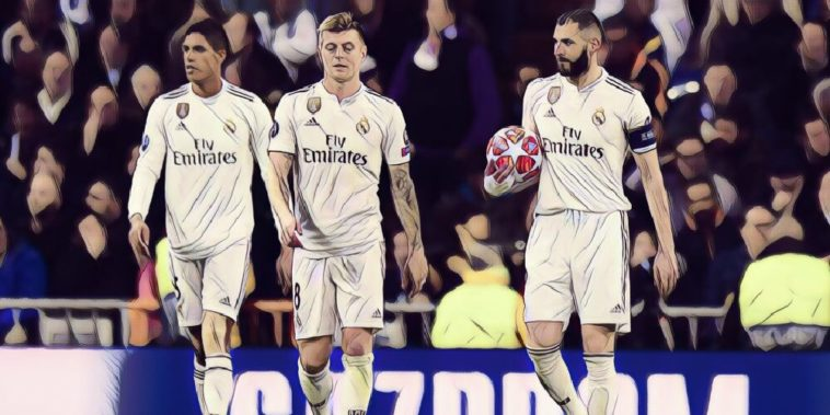 Real madrid are dumpred out of the Champions League by Ajax
