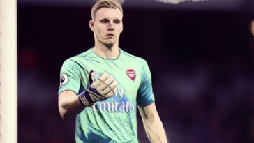 Arsenal goalkeeper Bernd Leno