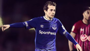 Everton winger Bernard