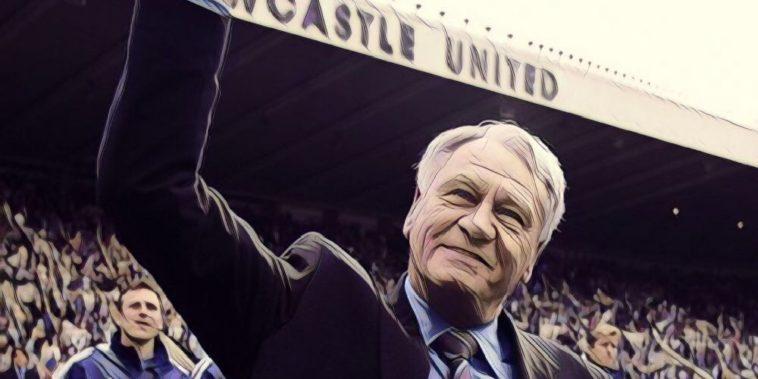 Newcastle United legend Sir Bobby Robson