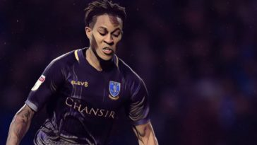 On loan Newcastle winger Rolando Aarons in action for Sheffield Wednesday