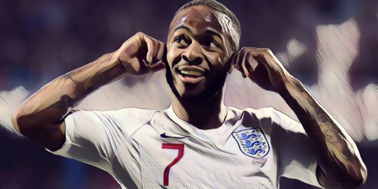 Raheem Sterling's response to vile racist abuse against Montenegro