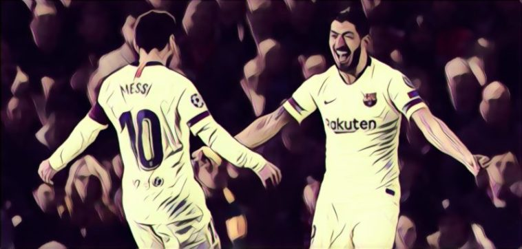 Messi Suarez Man United 0-1 Barca