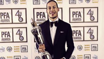 van dijk pfa player of the year