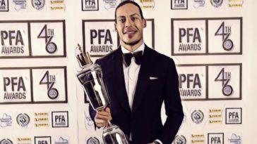 van dijk pfa player of the year