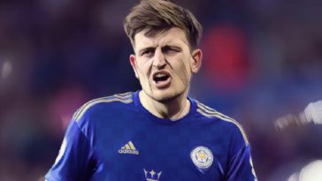 Leicester City's Harry Maguire