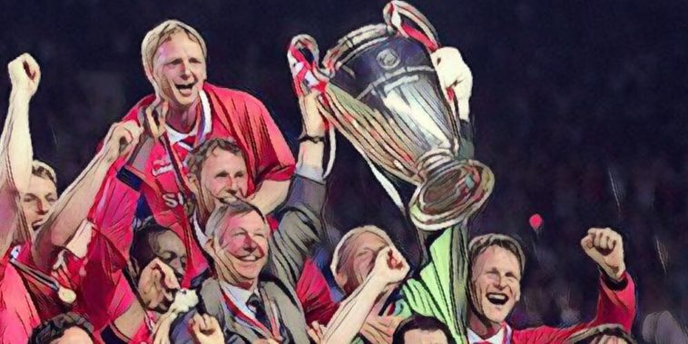 Manchester United complete the treble in 1999