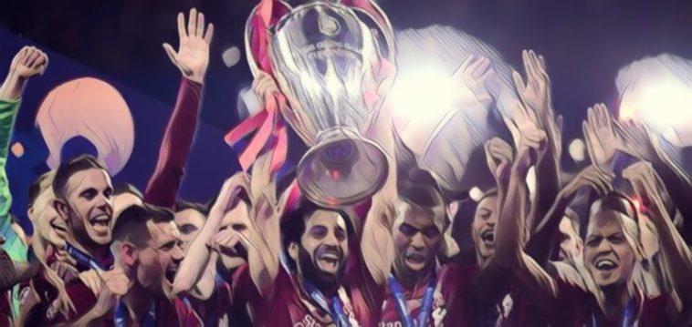 Liverpool win Champions League Spurs