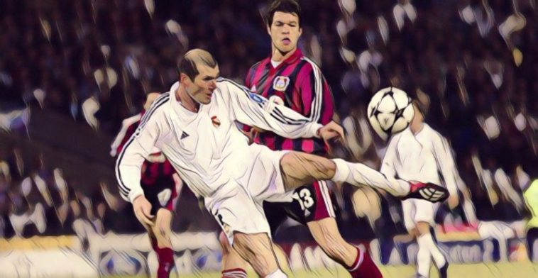 zidane volley
