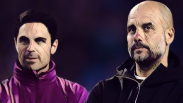 mikel arteta pep guardiola man city