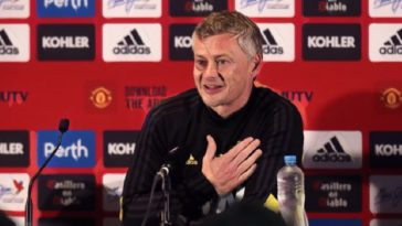manchester united manager ole gunnar solskjaer press conference