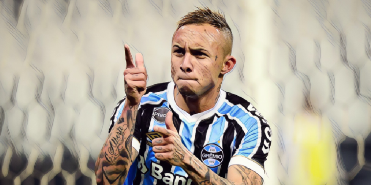 Everton Soares of Gremio