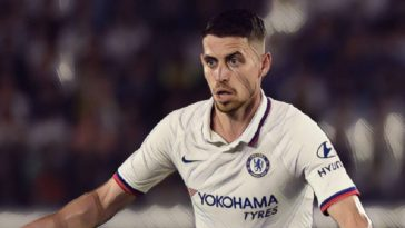 Jorginho for Chelsea v Barcelona pre-season