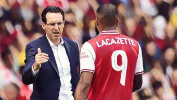 arsenal lacazette emery
