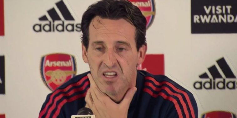 Unai Emery press conference