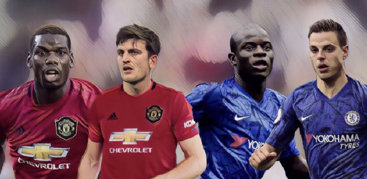 chelsea manchester united xi