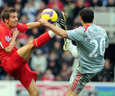 Liverpool's Javier 'Mascerano' misspelled shirt