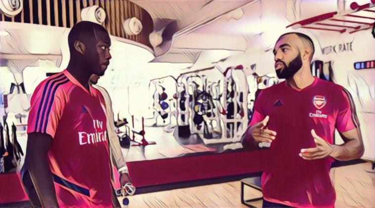 Nicolas Pepe honoured to play alongside Arsenal's Lacazette