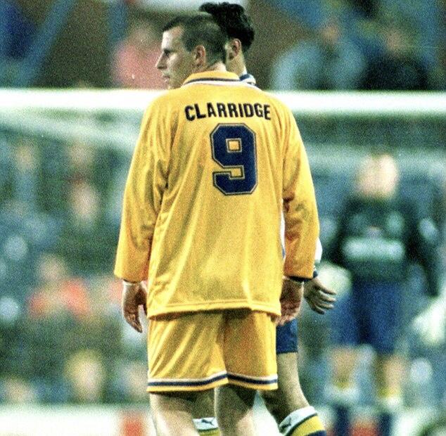 Steve Clarridge misspelled shirt