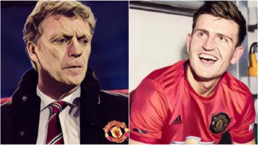 moyes harry maguire manchester united