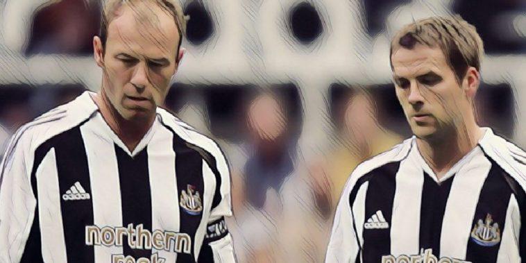 Michael Owen and Alan Shearer