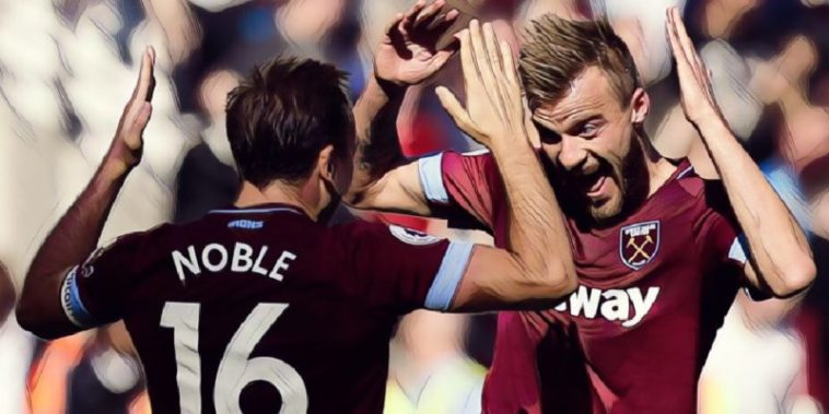 mark noble yarmolenko west ham united