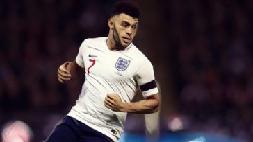 Oxlade Chemberlain England