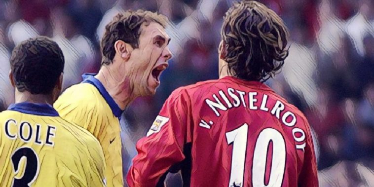 best moments Manchester United and Arsenal rivalry