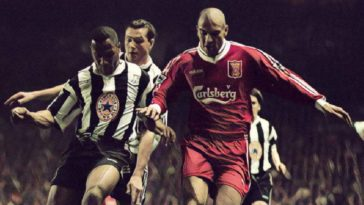 collymore ferdinand liverpool newcastle