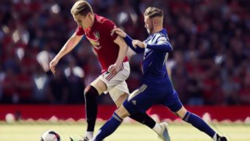 manchester united leicester city maddison