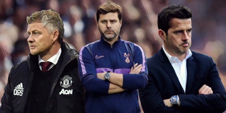 five favourite managers to get sacked next