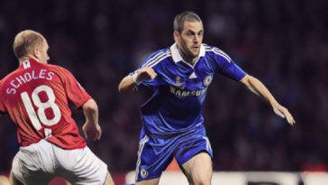 joe cole 2008 champions league final chelsea v manchester united