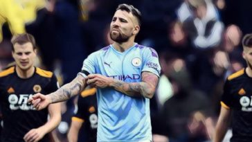 Otamendi Man City v Wolves