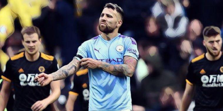 Otamendi Man City v Wolves