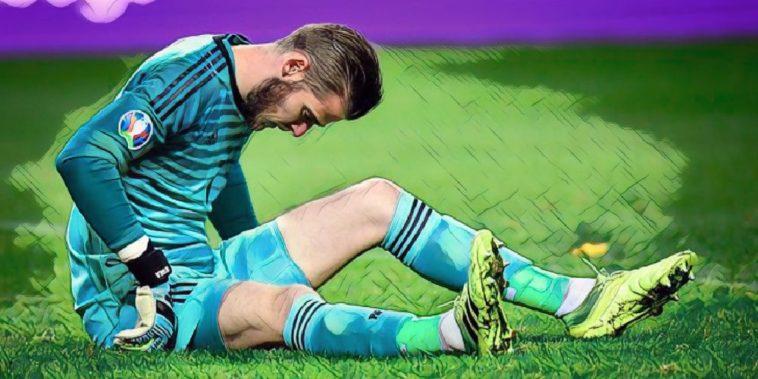 david de gea injury manchester united