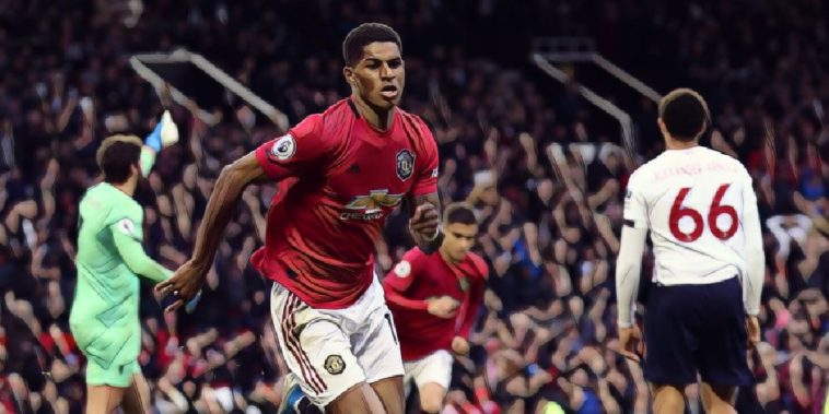 marcus rashford manchester united vs liverpool