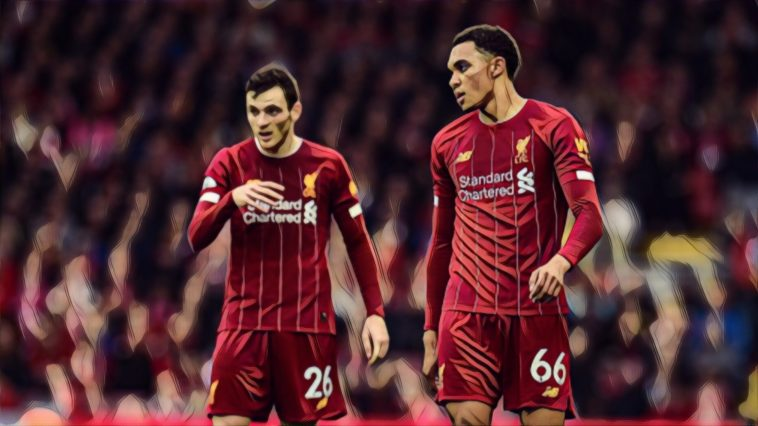 andy robertson trent alexander arnold liverpool