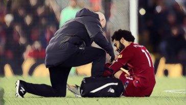 injury update Salah Van Dijk liverpool