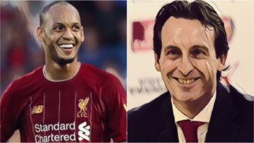 emery fabinho arsenal liverpool